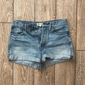 madewell the perfect summer short
